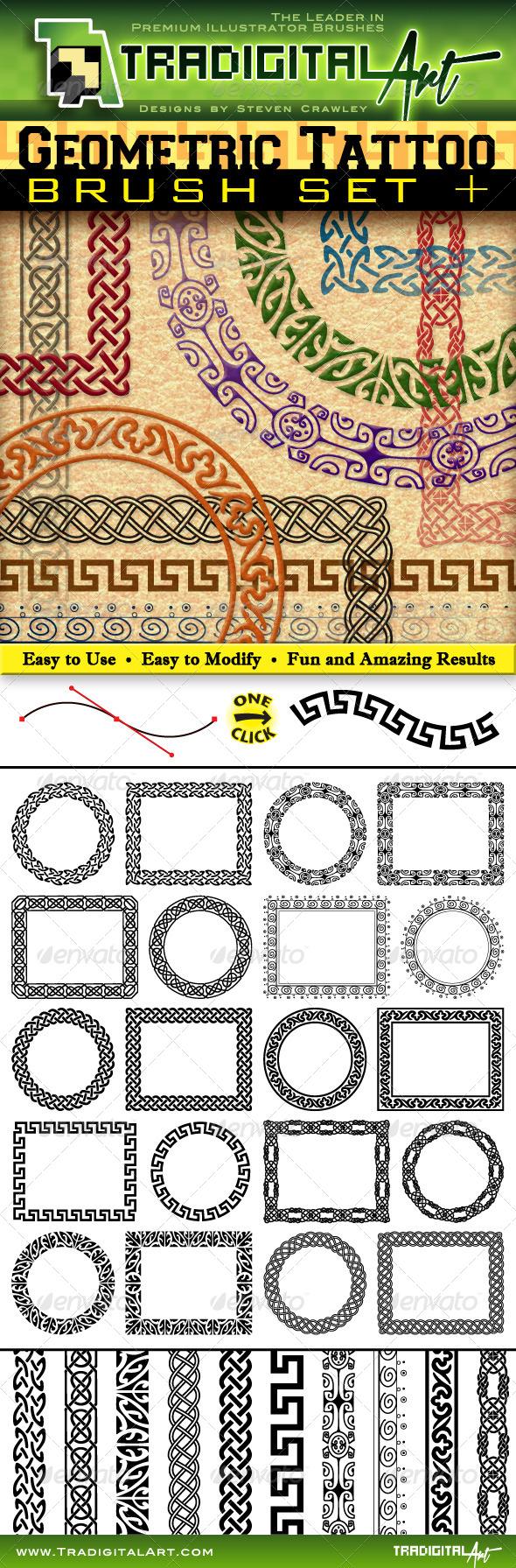 GeometricBrushSetPreviewWM