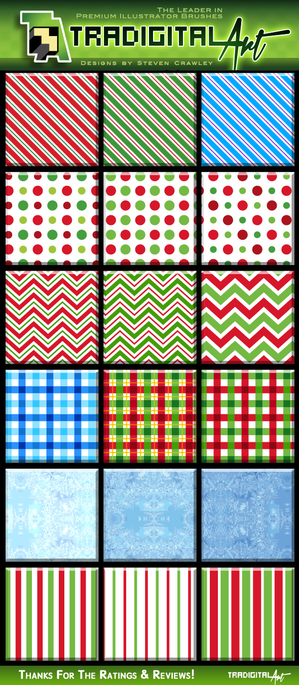 ChristmasSwatchPatternsPreview