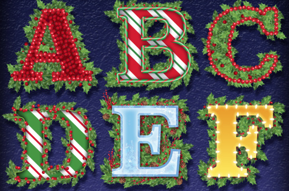 Holiday Holly Graphic Styles