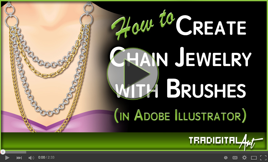 New Training Video on how to create Chain jewelry with