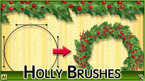 ChristmasHollyBrush_BillboardXL