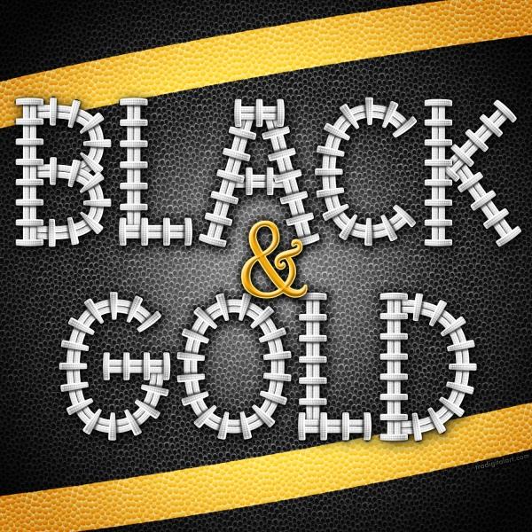 FootballLacesPreviewBlack&Gold