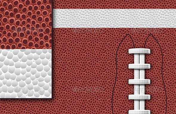 Football Football Pattern Background Set