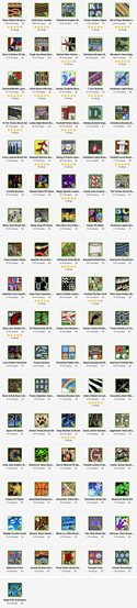 Catalog of Tradigital Art Products.