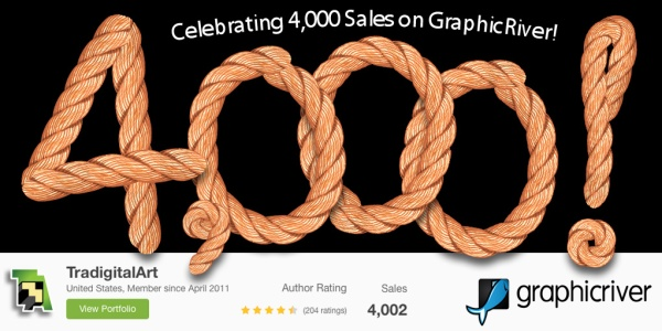 4000SalesOnGraphicRiver